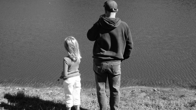 Dads, daughters and finding faith.